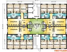 modular building floor plans dormitories whitley manufacturing