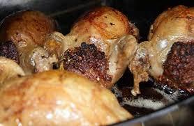 comment cuisiner les cailles recette de cailles farcies au four