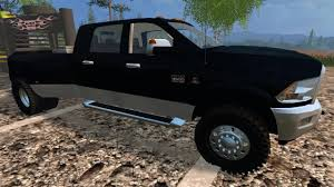 Dodge 3500 Pickup Truck - farming simulator 2015 mods dodge ram 3500 youtube