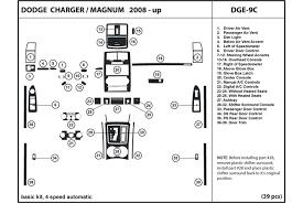 dodge charger dash kit dl auto dodge charger 2008 2010 dash kits