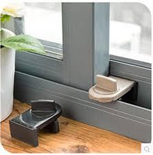 window locks child safety sliding door metal lock baby safety