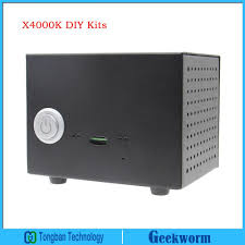 x4000k diy kits hifi audio mini pc compatible with raspberry pi in