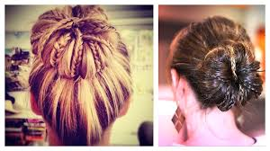 cute updo hairstyles for medium hair easy hairstyles high