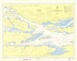 st seaway map print of st river st seaway ironsides island