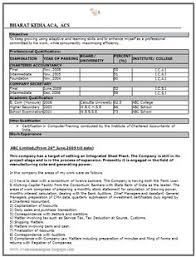 b tech it resume sample free download 1 career pinterest