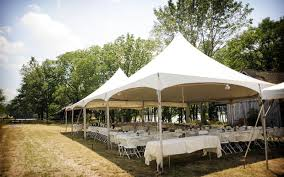 outdoor party rentals bauer s tents party rentals serving indiana illinois