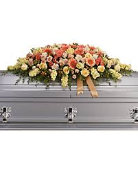 casket spray warmest remembrance casket spray sympathy arrangement teleflora