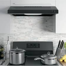Ventless Hood System Ge Jvx3300 30 Inch Under Cabinet Range Hood With 2 Speeds 200 Cfm