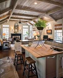 ideas for kitchen ceilings kitchen design kitchen ceilings open space decoration of rustic