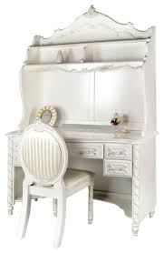 white desk with hutch and drawers wonderful victoria fairy tale style girls pearl white 5 drawer