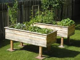 How To Build A Raised Garden Bed Cheap Build A Cheap Raised Bed From Pallets Raise Your Garden Musings