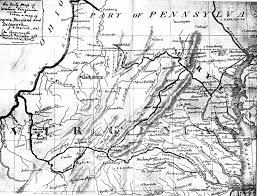 Map West Virginia by Historical Map Of Northern Va 1826