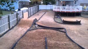 backyard rc track 1 16th scale e revo lipo youtube