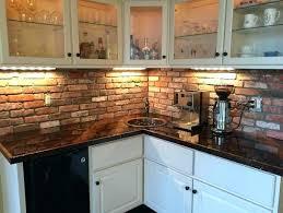 faux brick kitchen backsplash kitchen thin brick tile brick interior brick tile backsplash