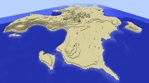 Minecraft Map Seeds File Island Village Seed Minecraft 1 8 2 Desert Island Big Village