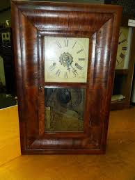 Forestville Mantel Clock Antique Small Size En Welch 8 Day Og Mantle Clock 18 This Is A