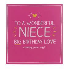 niece birthday cards happy jackson wonderful niece birthday card temptation gifts