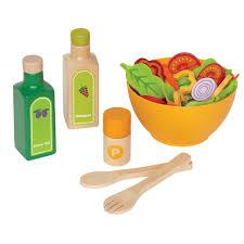 salat set für die kinderküche bei itkids kaufen - Kinderküche Zubehör