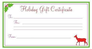 printable christmas gift vouchers printable gift certificate template free printable gift certificate