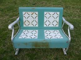metal swing bench antique 30 15 cool designs for a wooden garden