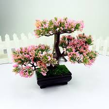 aliexpress buy 1pc welcoming pine emulate bonsai simulation