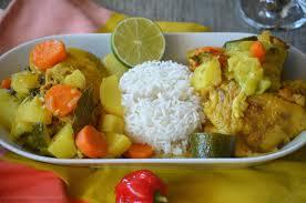 cuisine antillaise colombo de poulet colombo de poulet epices vanilla spices le de c est