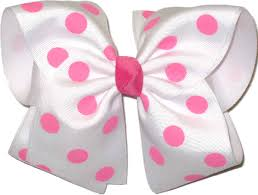 and white polka dot ribbon polka dot bows rainbows by paulette