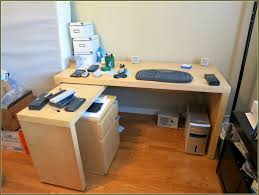 White Desk With File Cabinet by Filing Cabinet Desk With File Cabinets Built In Office Desk With
