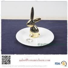 urban rabbit ring holder images Porcelain swan ring holder jpg