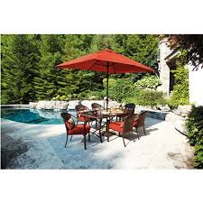 Tuscany Outdoor Furniture by Tuscany 9 Piece Patio Dining Set Box 1 Of 3 Walmart Com