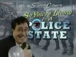 Stephen Banister So You U0027re Living In A Police State