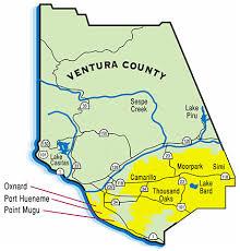 ventura county map evrt emergency volunteer response team