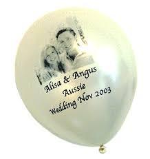 personalized balloons custom printed wedding balloons balloons tomorrow