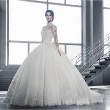 high neck wedding dresses arabic high neck wedding dresses 2017 sleeves lace