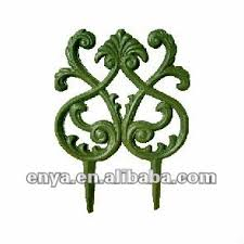 cast iron fence ornamental fencing edging garden edging fence