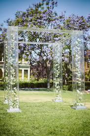 Wedding Arbor Ideas 31 Acrylic Wedding Ideas For 2017 Modern Weddings