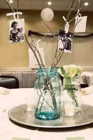 quinceanera decorations for tables decoración de la mesa de quinceañera con frascos de cristal