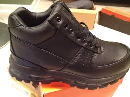 58 all black nike acg boots brand nike acg air max goadome men