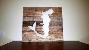 wooden mermaid wall diy pallet mermaid wall 101 pallets