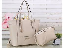 Tas Guess collectionbatam tas guess tote satchel set abu abu semi premium