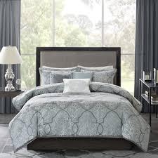madison park matteo blue 6 piece duvet cover set free shipping