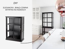 upgrade ikea malsjo to elegant tall glass cabinet ikea hackers