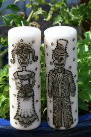Halloween Day Decoration Best 20 Decorated Candles Ideas On Pinterest Decorating Candles