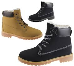 womens boots rubber sole womens fur lined ankle combat boots rubber grip sole winter