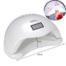 sun5 48w pro led uv nail lamp led nail light nail polish dryer uv