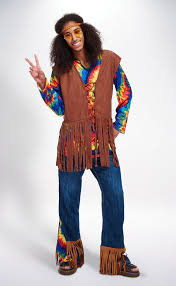 60s Halloween Costumes 60 U0027s Flower Child Man Mens Halloween Costumes Village