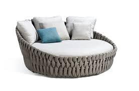 canape rond exterieur mobilier extérieur design tribu contemplez la collection tosca