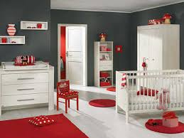 White Nursery Decor by Red And White Baby Room Ideas House Design Ideas
