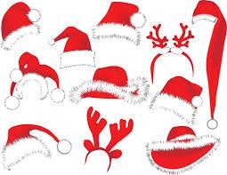 different christmas hat design elements vector set 06 vector