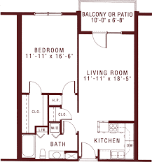 1 bedroom floor plan spacious one bedroom apartments for senior living riddle village